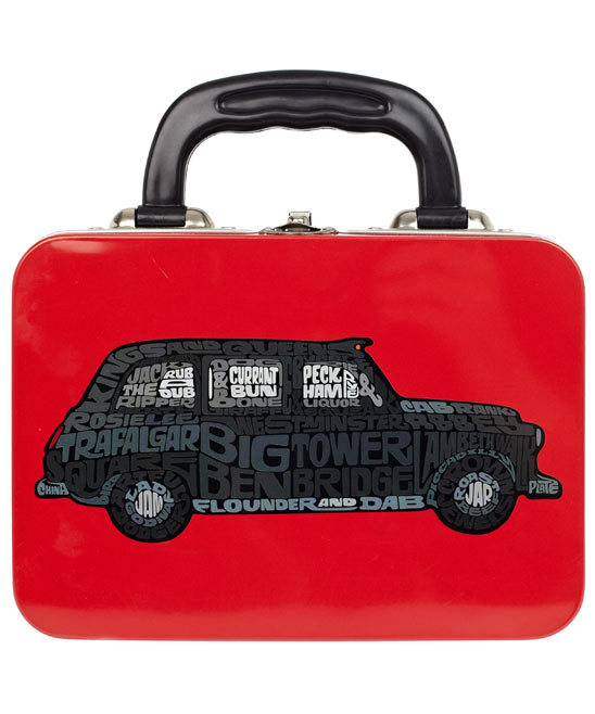 Black Cab Lunch Box (liberty.co.uk)