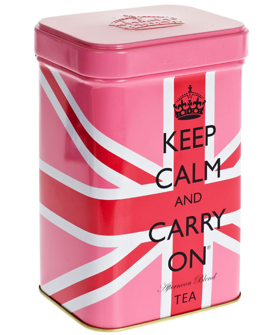 Keep Calm Afternoon Blend Tea Tin (liberty.co.uk)