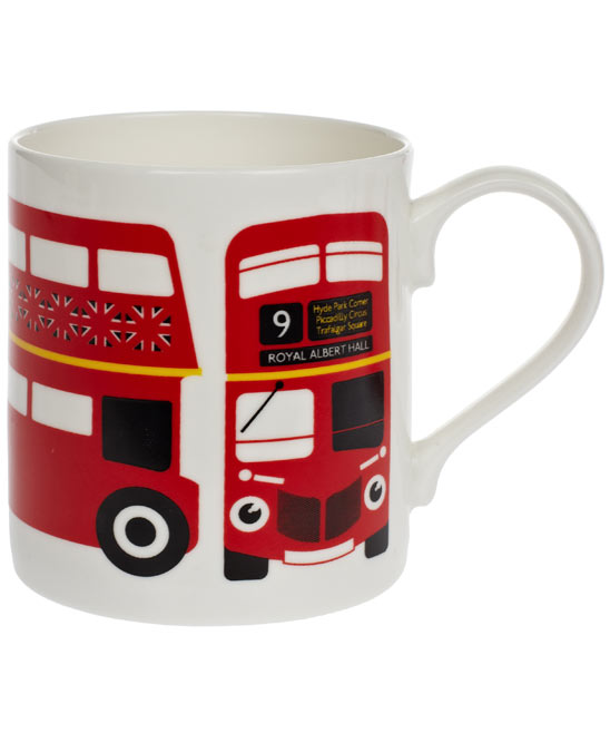 Red London Bus Mug