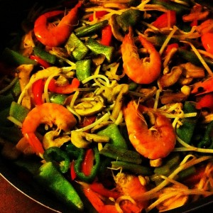 Our diet #dinner #food #instafood #healthy #diet #greens #yummy #tasty…